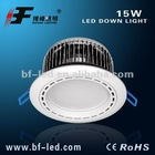 LED downlight with high grade quality and elegant appearance