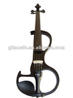 Popular black electric violin