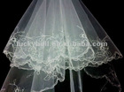 New arrival Gift Unique Two-layer Lace Edge Wedding Veil