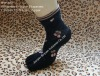 cute jacquard five fingers cotton socks,5 toes socks