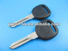 Buick transponder key with GM locked 46 chip plastic logo on the key blank car key whole sale