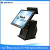 "15"" All in One POS System Touch Terminal ; display with Touch Screen"