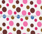 nylon poly printed taffeta fabric