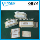 non-woven fabric lady make-up removal wet wipes