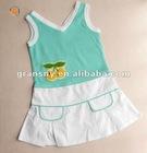 2012 summer young girls flower dress