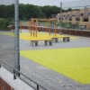 colorful artificial turf