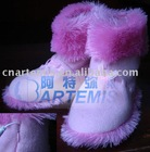 Guaranteed 100% USB Warmer heating boots USB warm shoes pink OEM (from factory)