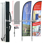Flying Banner Stand Knife Beach Flag