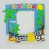 Sunshine and palm PVC frames