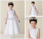 White Tulle Flower Girl Dress Patterns Free