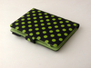for flip case green polka dot kindle 4 case