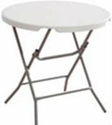 80CM Round Folding Table (YFZ-80R-1)