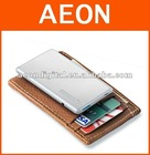 credit card battery for iPhone4,super slim ,Lion Battery inside ,400ma external battery card shape charger