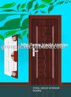 EXTERIOR SECURITY STEEL DOOR (MODEL NO.:721)
