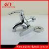 brass double water tap