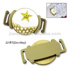 High Quality Metal Shoelace Charm with Ball Marker