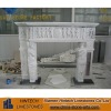 white marble fireplace price