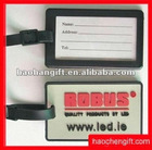 Advertising logo rubber pvc name card tags
