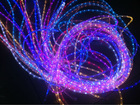 different colors Round 2 wire LED Rope light