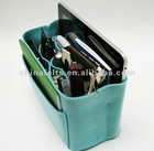 Baby blue felt bag organizer - small size (W 9in H 6in D 4in ), also for a school / baby bag, desk, car & etc.