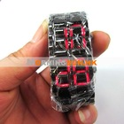 Led watch, Iron watch Samurai Inspired LED Watch Metal Faceless Red LED Watch