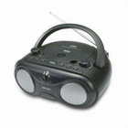 Boom Box MP3 Player + CD-R/CD-Player with AM/FM 2 Band Radio High Power