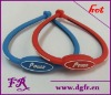 charm silicone ion bracelet
