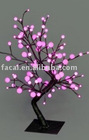 LED tree light ,with plastic ball decoration