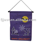 indoor hanging banners halloween banner