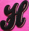 Chenille Patch H
