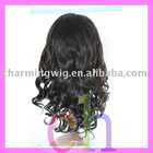 12inch color#1B human hair full lace wig