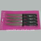 4 pc steak knife set