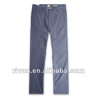 Luxury easy care flat front trousers pants designs for men