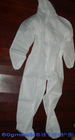PP Nonwoven Coverall (elastic waist, with hood, no boot)