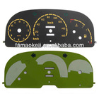 Different designs high brightness EL gauge,el glow car meter with high quality and best price