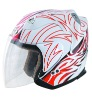 DOT ABSopen face helmet 806-1#(W/R)