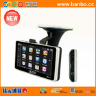 New portable 5 inch car dvr with gps and 2.0MP camera