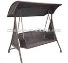 Outdoor Garden Rattan Swing Chair Stock