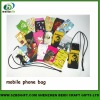 2013 heat transfer printed mobilephone bag for sale