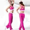 Women's fancy color yoga wear