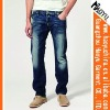blue fashion used jean for sale (HY1036)
