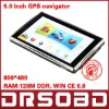 5 inch Touchscreen GPS Navigation car GPS 800MHz 128M DDR+Bluetooth+AV-IN+4G Memory WIN CE 6.0+Free map