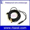 Waterproof AV IN Mini USB Industrial Flexible Endoscope with Camera Head