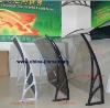 Plastic canopy bracket