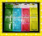 3PK Glass Gel Air Freshener,Scented Air Fresh,Fragrance Flavor
