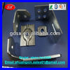 Precision cold rold steel connector for mid pole,matel bent angle 70x50x3mm blue zinc plated ODM/OEM factory