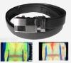 Biomagnetic leather belt