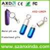 Cute pill type metal flash drive