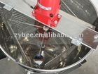 6 frame stainless steel honey extractor