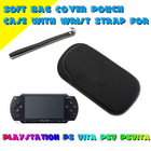 Soft Bag Cover Pouch Case With Wrist Strap For Playstation PS Vita PSV PSVita